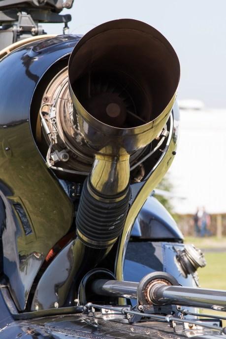 © Adam Duffield - Exhaust of Turbomeca Astazou IIIN2 - Gazelle 50th Anniversary Fly-in