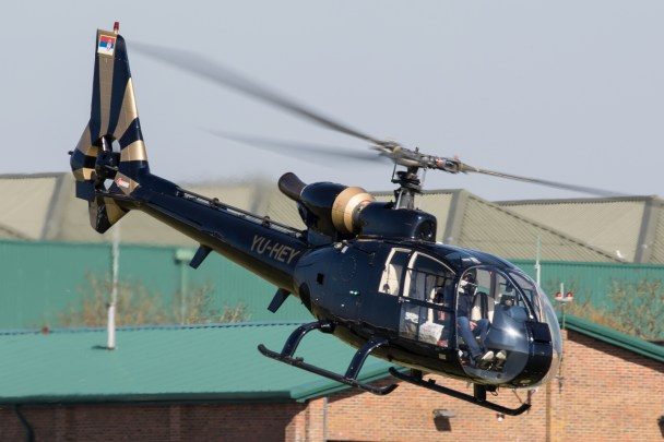 © Adam Duffield - Civilian operated SA.341J YU-HEY - Gazelle 50th Anniversary Fly-in
