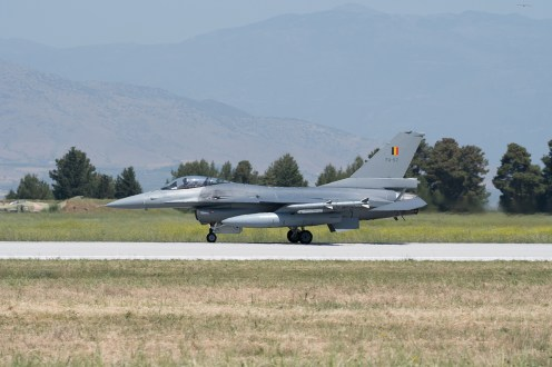 ©Duncan Monk - Belgian Air Force F-16AM FA-57 - Larissa AB