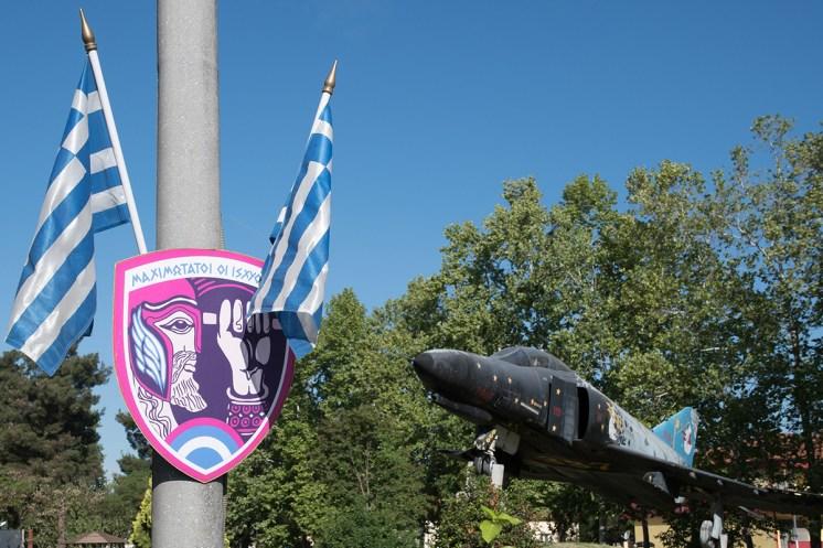 ©Duncan Monk - Hellenic Air Force RF-4E Gate Guard 68-0506 - Larissa AB