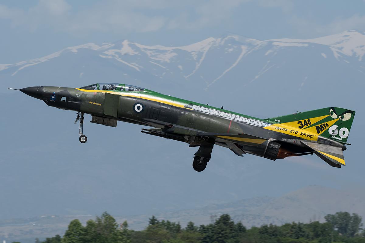 ©Duncan Monk - Hellenic Air Force RF-4E 69-7450 - Larissa AB