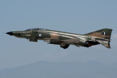 © Duncan Monk - Hellenic Air Force RF-4E 77-1765 - Larissa AB