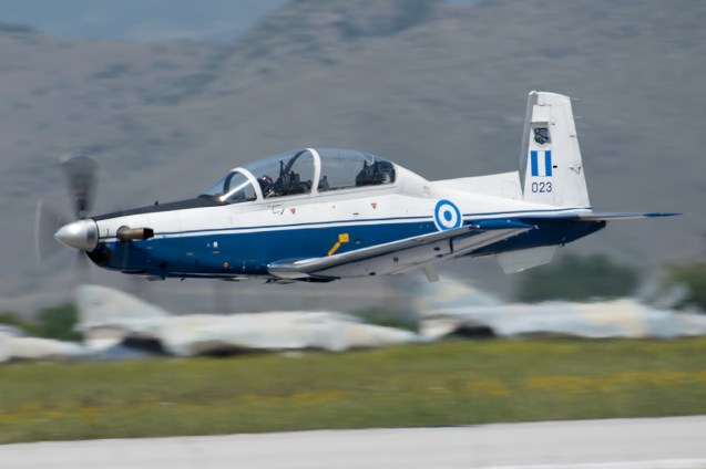 ©Duncan Monk - Hellenic Air Force Texan T-6A II 023 - Larissa AB