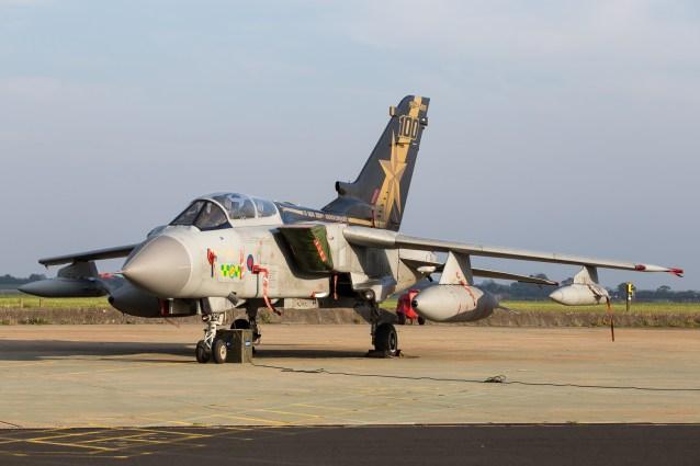 © Adam Duffield - Panavia Tornado GR4 ZA548 - RAF Marham Enthusiasts Event 2017