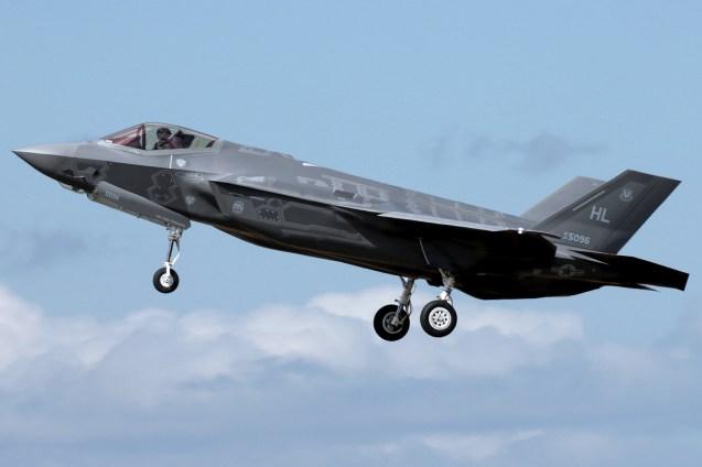© Mark Kwiatkowski - Lockheed Martin F-35A Lightning II 14-5096 - F-35A Deployment to RAF Lakenheath