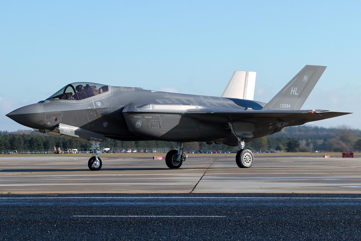 © Mark Kwiatkowski - Lockheed Martin F-35A Lightning II 14-5094 - F-35A Deployment to RAF Lakenheath