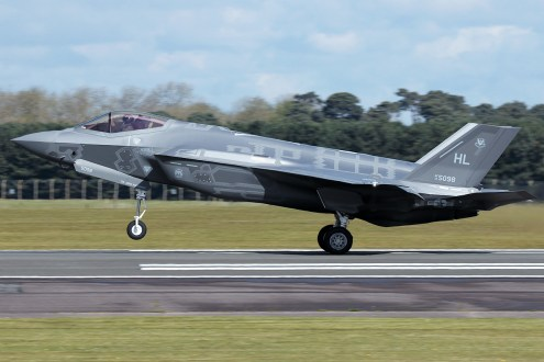 © Mark Kwiatkowski - Lockheed Martin F-35A Lightning II 14-5098 - F-35A Deployment to RAF Lakenheath