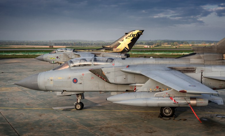 © Mark Ranger - Panavia Tornado GR4 ZA447 and ZA548 - RAF Marham Enthusiasts Event 2017