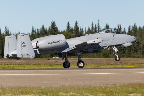 © Mark McGrath - A-10C (80-0221) of 107th FS Michigan ANG takes off during Red Flag Alaska 17-2 - Red Flag Alaska 17-2