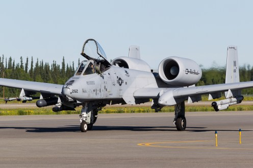 © Mark McGrath - A10C (80-0262) of the 107th FS Michigan ANG taxiing out during Red Flag Alaska 17-2 - Red Flag Alaska 17-2