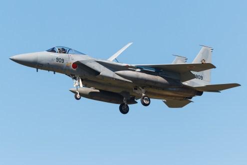 © Mark McGrath - F-15J (92-8909) of 201 Hikotai JASDF landing during Red Flag Alaska 17-2 - Red Flag Alaska 17-2