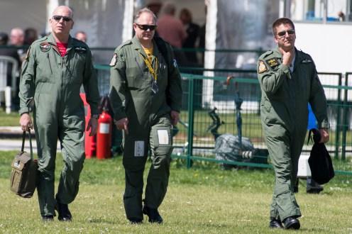 © Duncan Monk - Strikemaster Duo crew - Duxford Air Festival 2017