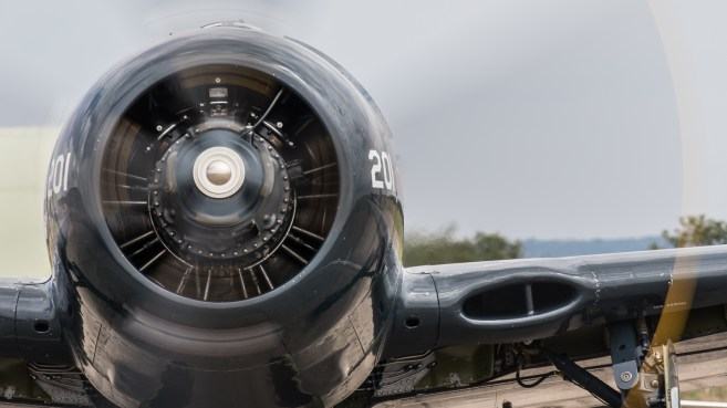 © Adam Duffield - Grumman Bearcat F8F G-RUMM - Flying Legends 2017
