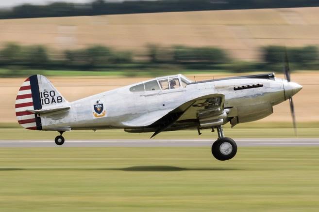 © Adam Duffield - Curtiss-Wright P40C G-CIIO - Flying Legends 2017