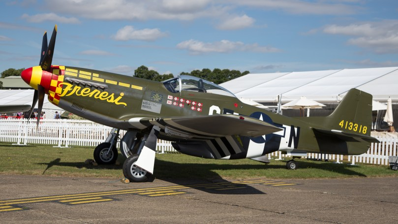 © Adam Duffield - P-51D Mustang 'Frenesi' N357FG - Flying Legends 2017