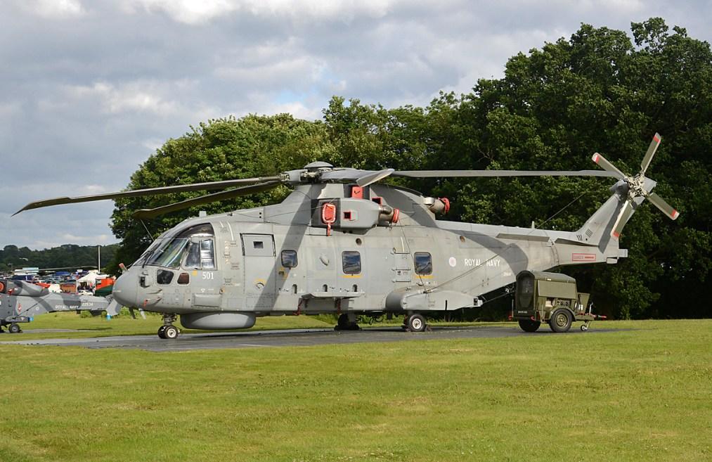 © Niall Paterson - Royal Navy AgustaWestland EH-101 Merlin HM2 - RAF Cosford Air Show 2017