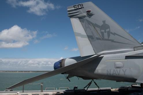 © Duncan Monk - Boeing EF-18G 168773/AJ 501 VAQ-131- USS George H W Bush CVN 77