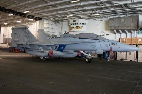 © Duncan Monk - Boeing EF-18G 168776AJ 504 VAQ-131- USS George H W Bush CVN 77