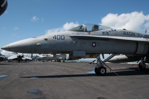 © Duncan Monk - Boeing F/A-18E Super Hornet 165187/AJ 400 - USS George H W Bush CVN 77