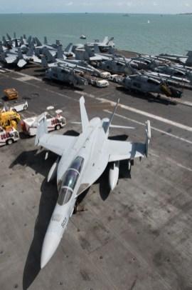 © Duncan Monk - CVW 8 Aircraft - USS George H W Bush CVN 77
