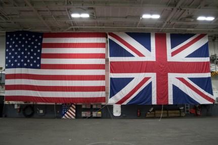 © Duncan Monk - George Bush Hangar UK/US Alliance - USS George H W Bush CVN 77