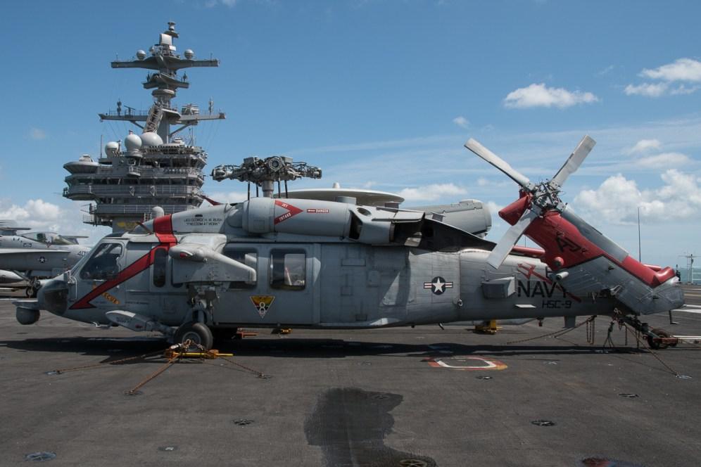 © Duncan Monk - Sikorsky MH-60S 167901/AJ 610 - USS George H W Bush CVN 77