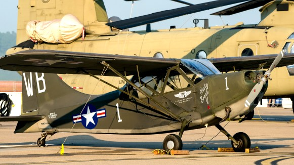 © Douglas Monk - Cessna L-19A Bird Dog - NAS Oceana Airshow 2017