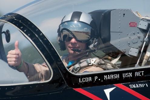 © Duncan Monk - 'Vandy One' L-39 Pilot Lt P Marsh USN Ret Swampy - NAS Oceana Airshow 2017
