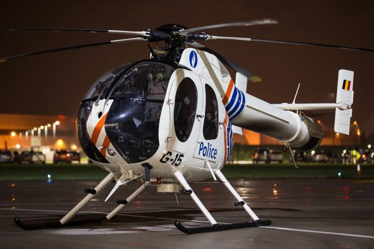 © Adam Duffield - Belgian Federal Police MD 520N G-15 - Northolt Nightshoot XXIII