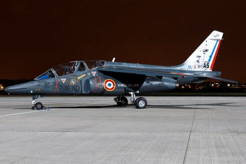 © Mark Kwiatkowski - Armée de l'Air Alpha Jet 705-ND / E26 - Northolt Nightshoot XXIII