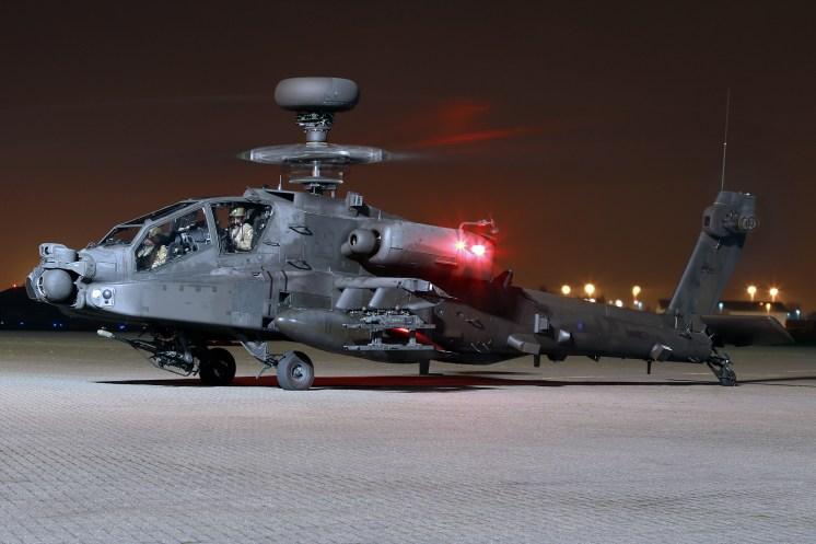 © Mark Kwiatkowski - Army Air Corps Apache AH1 ZJ225 - Northolt Nightshoot XXIII