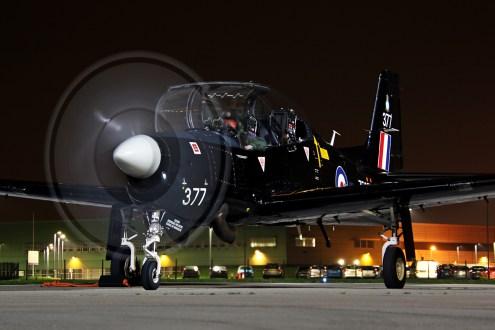 © Jamie Ewan - Royal Air Force Tucano ZF377 - Northolt Nightshoot XXIII