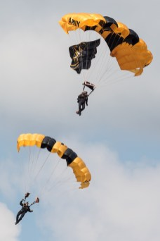 © Adam Duffield - Golden Knights Parachute Display Team - Joint Base Andrews Air Show 2017