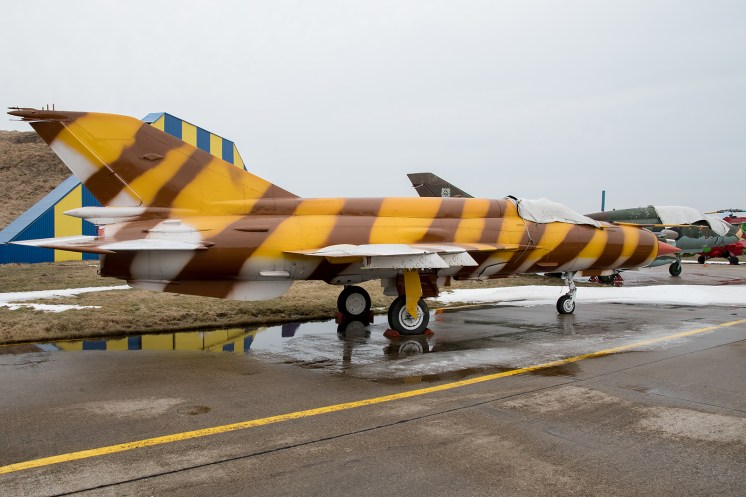 © Duncan Monk - ex-Hungarian Air Force MiG-21bis 5531 - Jurmala Airport Air Zoo