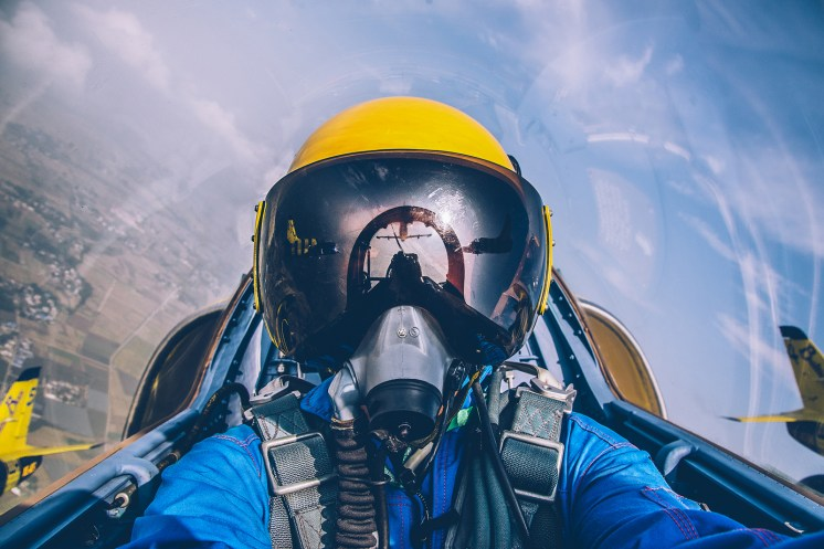 © Baltic Bees - Baltic Bees L-39C Pilot - the ultimate 'selfie'? - Baltic Bees Jet Team