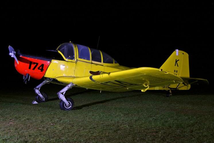 © Jamie Ewan - Fokker S.11 Instructor G-BEPV (Kon.Marine 174-K) - Spanhoe Photocall