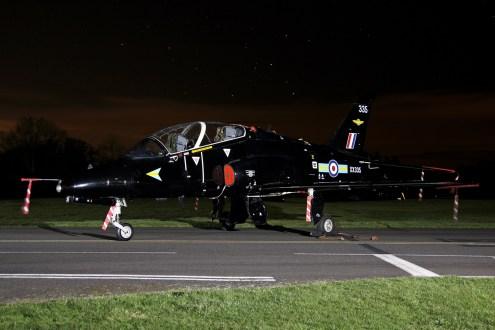 © Jamie Ewan - British Aerospace Hawk T1 XX335 (208(R) Squadron Marks) - RAF Cosford Nightshoot