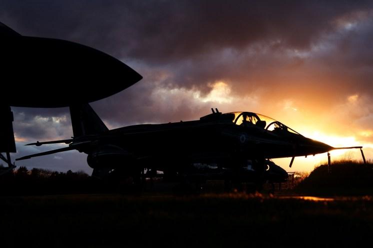 © Jamie Ewan - Defence College of Technical Training SEPECAT Jaguar T2A XX833 - RAF Cosford Nightshoot