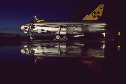 © Jamie Ewan - English Electric Lightning F3 XR713-C (XR718-C) - Lightning Preservation Group Nightshoot