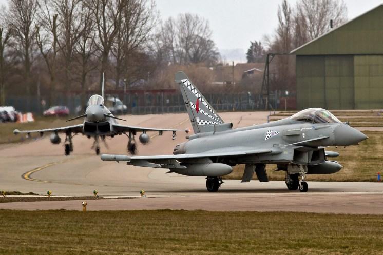 © Craig Sluman - 17(R) Squadron Disbandment Typhoon FGR.4 ZJ947 - RAF Typhoon Special Schemes