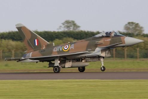 ©Jamie Ewan - Battle of Britain 75th Anniversary Typhoon FGR.4 ZK349 - RAF Typhoon Special Schemes