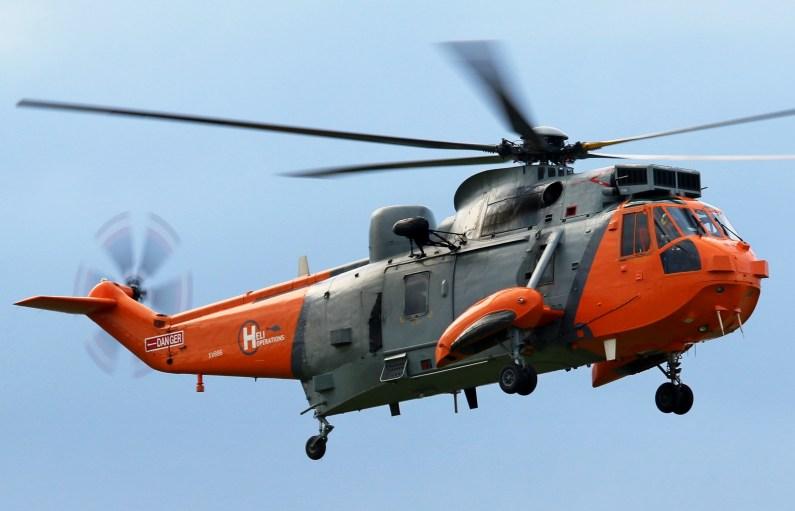 © Jamie Ewan - HeliOperations (Portland) Westland Sea King HU.5SAR XV666 - Navy Wings II with Threshold.aero