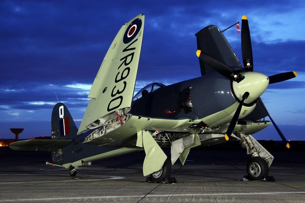 © Jamie Ewan - Royal Navy Historic Flight Hawker Sea Fury FB.11 VR930 - Navy Wings II with Threshold.aero
