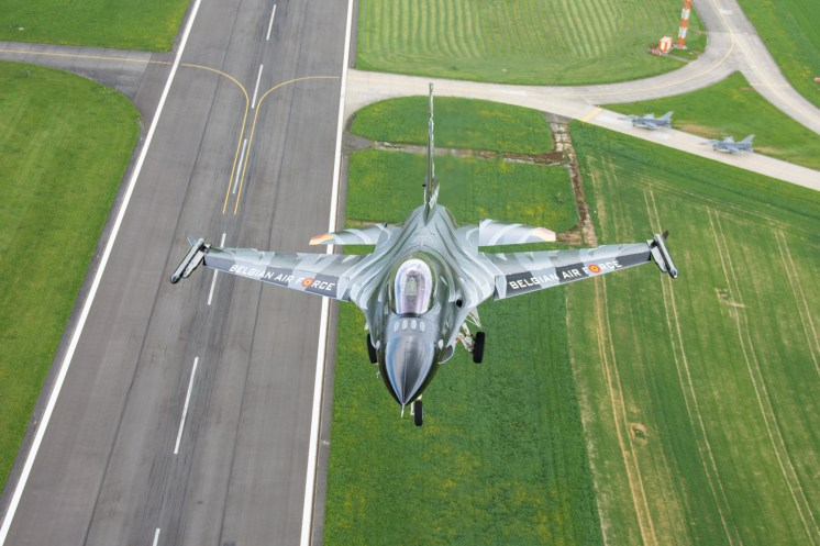 © Graham Platt / BCAR - Belgian Air Force F-16 FA-101 'Dark Falcon'