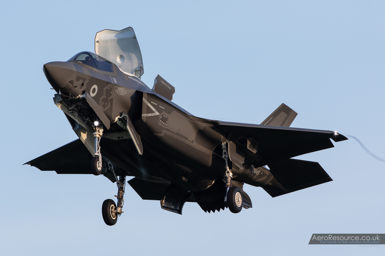 © Adam Duffield - F-35B arrives at RAF Marham