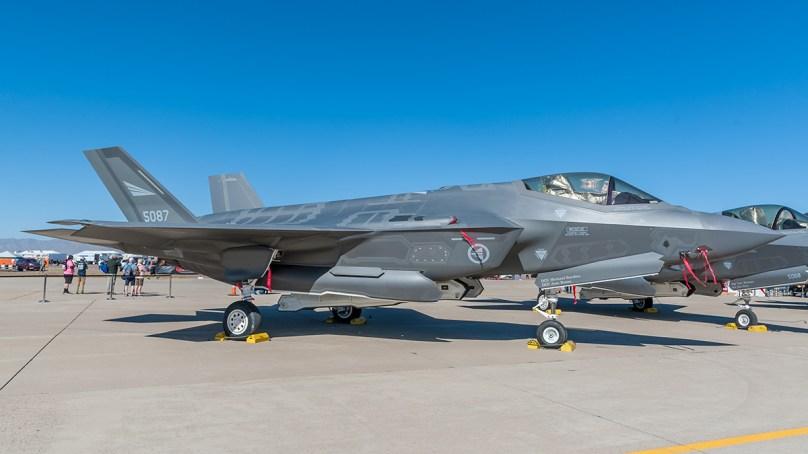 © Doug Monk - RNoAF F-35A - Luke AFB Airshow 2018