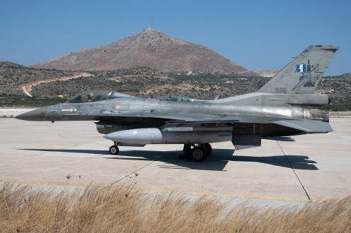 © Duncan Monk - HAF F-16 505 Tail Star - 115 Combat Wing – Hellenic Air Force – Cretes Ghost Vipers
