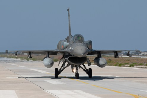 © Duncan Monk - HAF F-16C 511 - 115 Combat Wing – Hellenic Air Force – Cretes Ghost Vipers