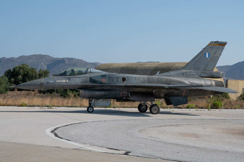 © Duncan Monk - HAF F-16C 536 - 115 Combat Wing – Hellenic Air Force – Cretes Ghost Vipers