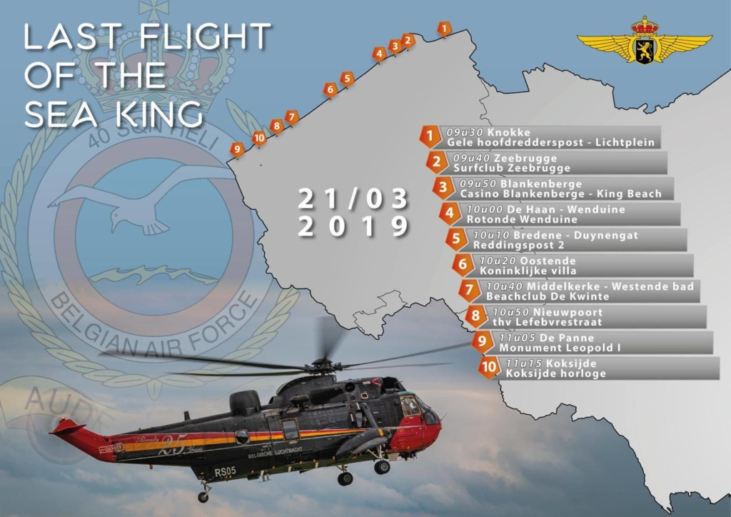 © Belgian Air Component - Belgian Sea King Retirement